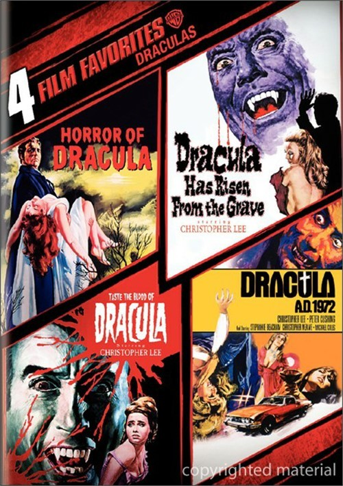 4 Film Favorites: Draculas Movie