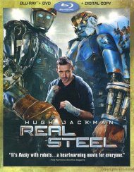 Real Steel (Blu-ray + DVD + Digital Copy) Blu-ray