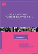 Up All Night With Robert Downey Sr.: Eclipse From The Criterion Collection Movie