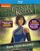 Legend Of Korra, The: Book Four - Balance Blu-ray