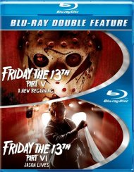 Friday The 13th Part 5 / Friday The 13th Part 6 (Double Feature) Blu-ray