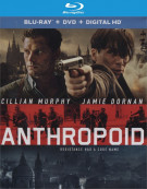 Anthropoid (Blu-ray + DVD + UltraViolet) Blu-ray