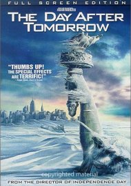 Day After Tomorrow, The (Fullscreen) Movie