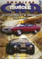 American Muscle Car: Ford Fairlane GT & Talladega / 427 Cobra Movie