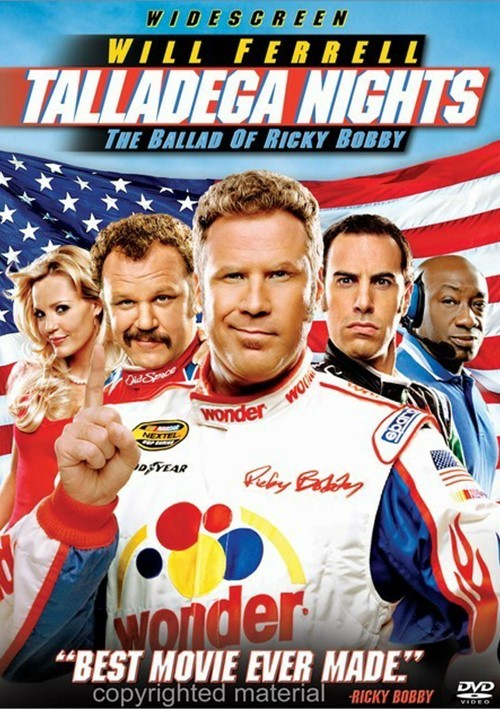 Talladega Nights: The Ballad Of Ricky Bobby (Widescreen) Movie