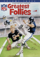 NFL Greatest Follies: Volume 3 Movie
