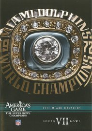 NFL Americas Game: Miami Dolphins Super Bowl VII Movie