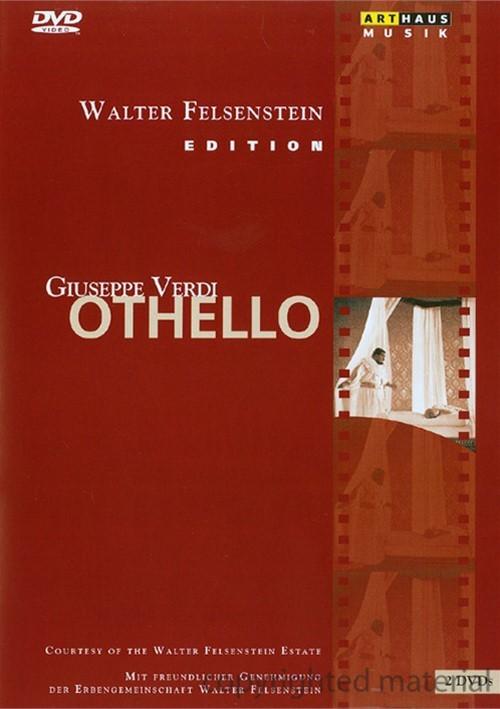 Walter Felsenstein Edition: Othello - Verdi Movie