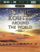 Scenic Routes Around The World: Africa (Blu-ray + DVD + Digital Copy) Blu-ray