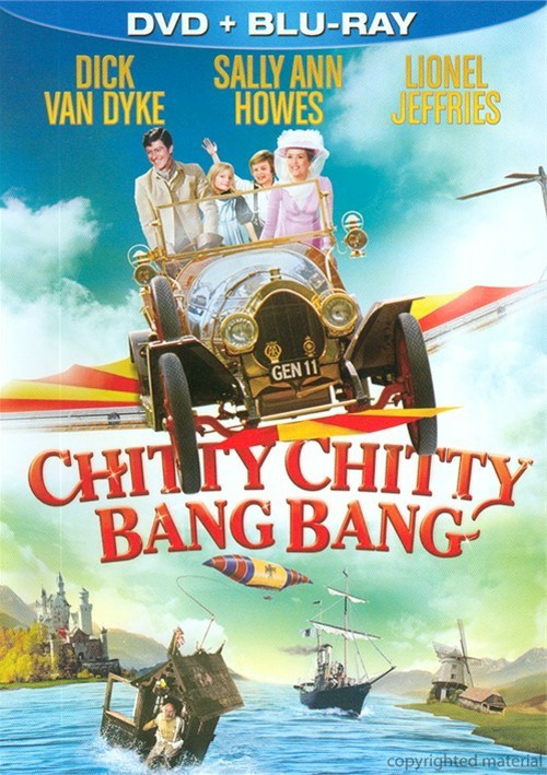 Chitty Chitty Bang Bang (DVD + Blu-Ray Combo) Movie