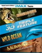 IMAX: Dinosaurs Alive! / Wild Ocean / Mummies (Blu-ray 3D Triple Feature) Blu-ray