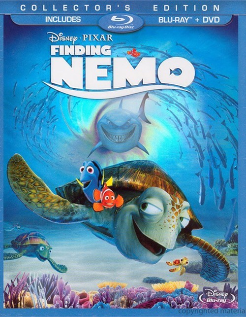 Finding Nemo: 3 Disc Collectors Edition (Blu-ray + DVD Combo) Blu-ray