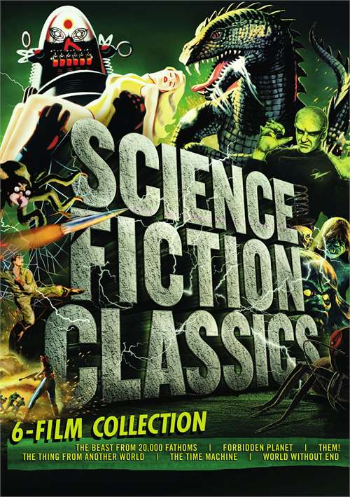 science fiction classics collection dvd dvd empire