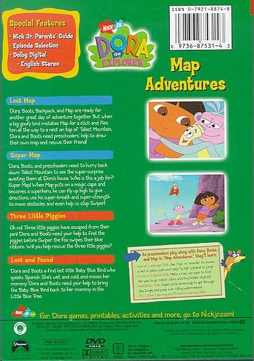 Dora The Explorer: Map Adventures (DVD 2003)   DVD Empire