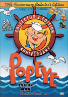 Popeye The Sailor Man Classics: 75th Anniversary Collectors Edition Movie