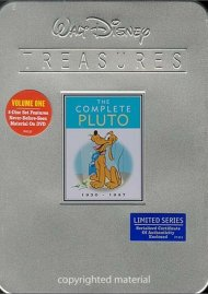 Complete Pluto, The: Volume 1 - Walt Disney Treasures Limited Edition Tin Movie