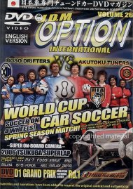 JDM Option International: Volume 26 - World Cup Car Soccer! Movie