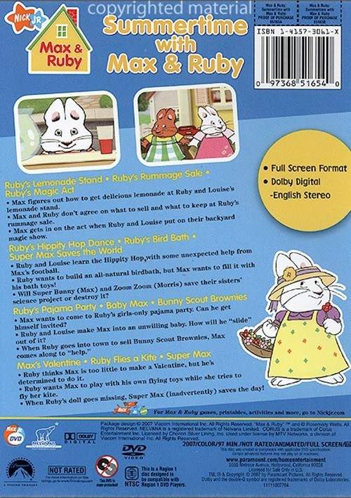 Max Amp Ruby Summertime With Max Amp Ruby Dvd 2007 Dvd Empire