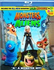 Monsters Vs. Aliens Blu-ray