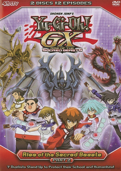 Yu-Gi-Oh!: GX - Rise Of The Sacred Beasts Part 2 Movie