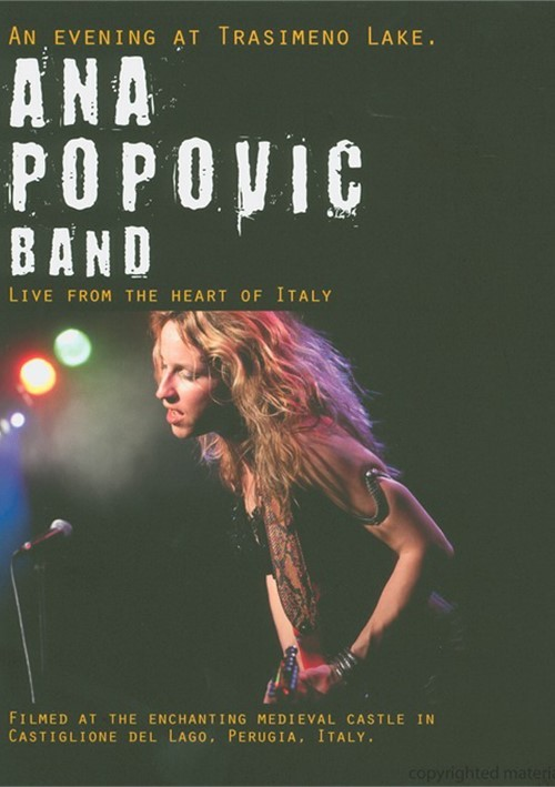 Ana Popovic: An Evening At Trasimeno Lake - Live From The Heart Of Italy Movie