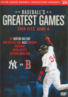 Baseballs Greatest Games: 2004 ALCS Game 4 Movie