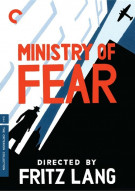 Ministry Of Fear: The Criterion Collection Movie