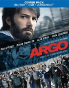Argo (Blu-ray + DVD + UltraViolet) Blu-ray