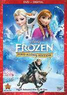 Frozen: Sing Along Edition (DVD + UltraViolet) Movie