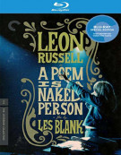 Poem Is A Naked Person, A: The Criterion Collection Blu-ray