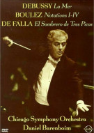 Daniel Barenboim And The Chicago Symphony Orchestra: Debussy/ Boulez/ De Falla Movie