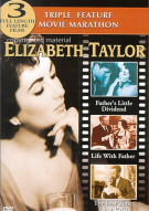 Elizabeth Taylor: Triple Feature Movie Marathon  Movie