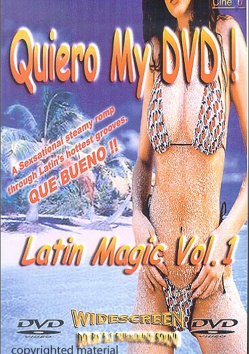 Quiero My DVD: Latin Magic 1 Movie