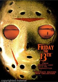 Friday The 13th: From Crystal Lake To Manhattan - Ultimate Edition DVD Collection Movie