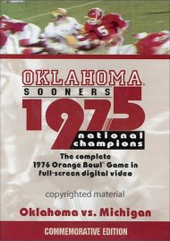 1975 Oklahoma National Championship Game Movie