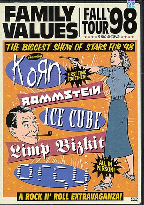 Family Values Fall Tour 98 - 5 Big Shows Movie