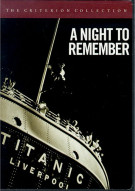 Night To Remember, A: The Criterion Collection Movie