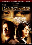 Da Vinci Code, The: Special Edition (Fullscreen) Movie