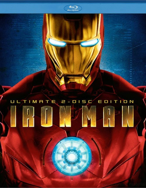 Iron Man: Ultimate 2-Disc Edition Blu-ray