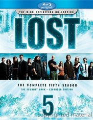 Lost: The Complete Fifth Season - The Journey Back Expanded Edition Blu-ray
