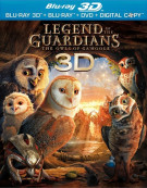 Legend Of The Guardians: The Owls Of GaHoole 3D (Blu-ray 3D) Blu-ray