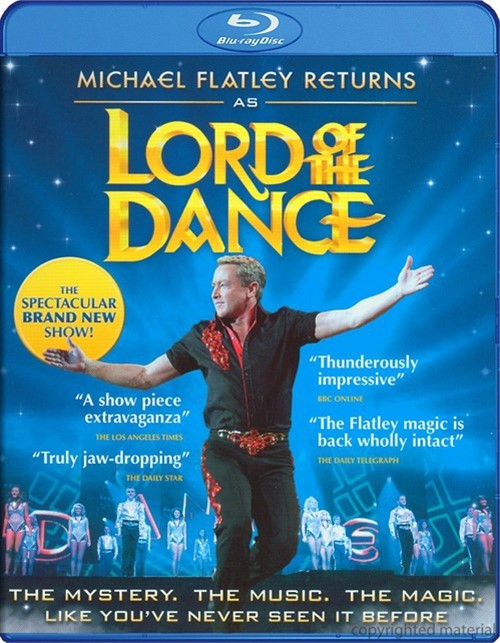 Michael Flatley Returns As Lord Of The Dance Blu-ray