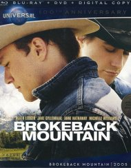 Brokeback Mountain (Blu-ray + DVD + Digital Copy) Blu-ray