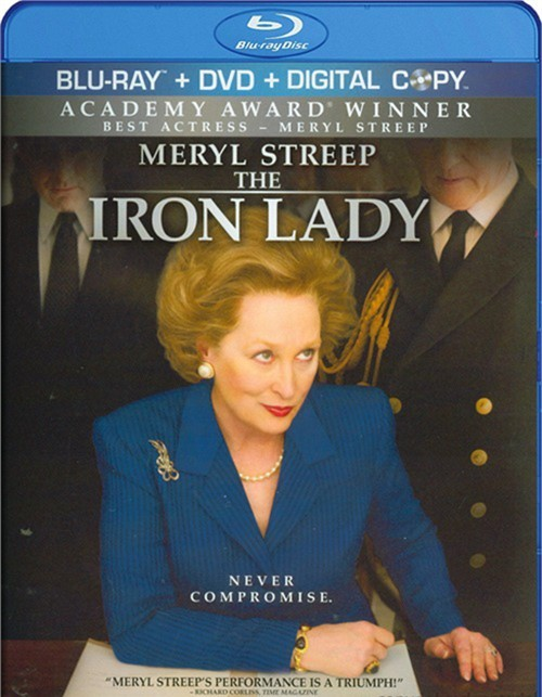 Iron Lady, The (Blu-ray + DVD + Digital Copy) Blu-ray