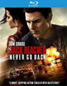 Jack Reacher: Never Go Back (Blu-ray + DVD + UltraViolet) Blu-ray