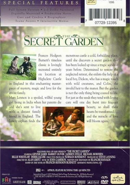 Secret Garden The Dvd 1987 Dvd Empire