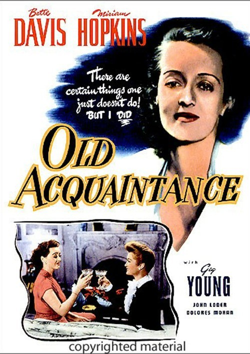 Old Acquaintance Movie