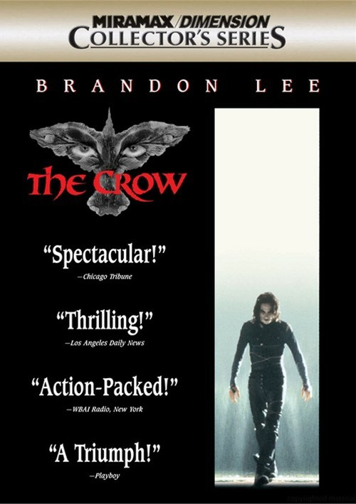 Crow, The: Collectors Series Movie