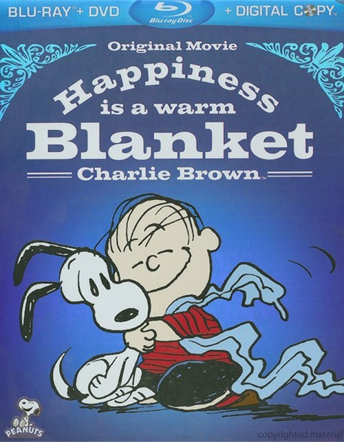 Happiness Is A Warm Blanket, Charlie Brown Blu-ray
