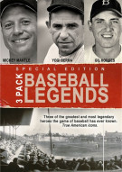 Baseball Legends: Mickey Mantle / Yogi Berra / Gil Hodges (3 Pack) Movie